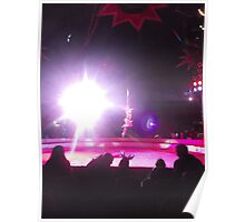 Zippo's Circus/High live wire act -(150413)- Digital Photo/FujiFilm FinePix AX350 Poster