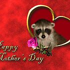 Mother's Day Raccoon by jkartlife