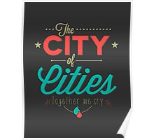 City of Cities Poster