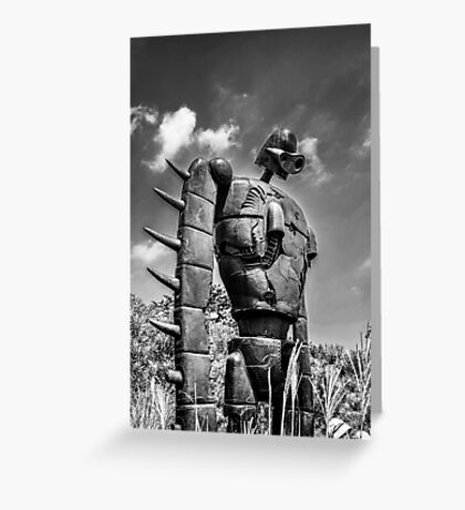 Sky soldier Greeting Card