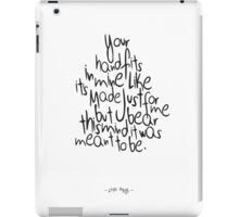 Little Things I iPad Case/Skin