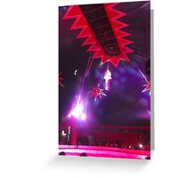 Zippo's Circus/High live wire act II -(150413)- Digital Photo/FujiFilm FinePix AX350 Greeting Card