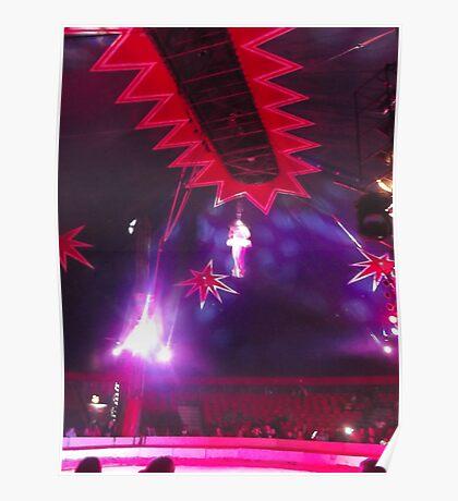 Zippo's Circus/High live wire act II -(150413)- Digital Photo/FujiFilm FinePix AX350 Poster