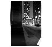 Downtown Philadelphia building Poster