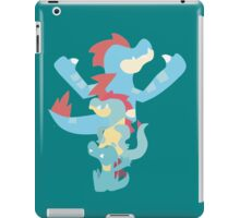 Pokemon Totodile Evolution Line iPad Case/Skin