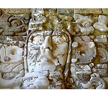 Maya Indian Face Photographic Print