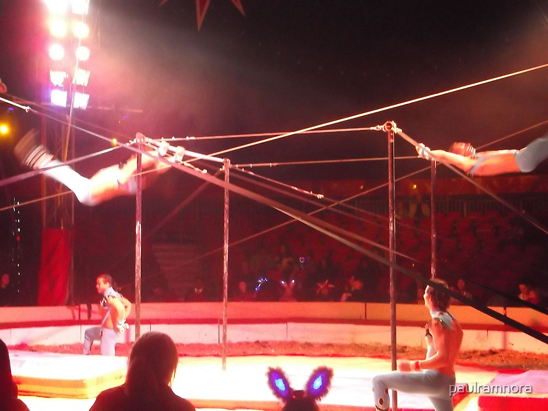 Zippo's Circus/Cuban Troupe Acrobats II -(150413)- Digital Photo/FujiFilm FinePix AX350 by paulramnora