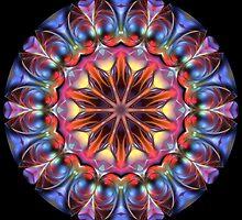 Blobs of Color Kaleidoscope 01 by fantasytripp
