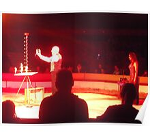 Zippo's Circus/Performing birds -(150413)- Digital Photo/FujiFilm FinePix AX350 Poster