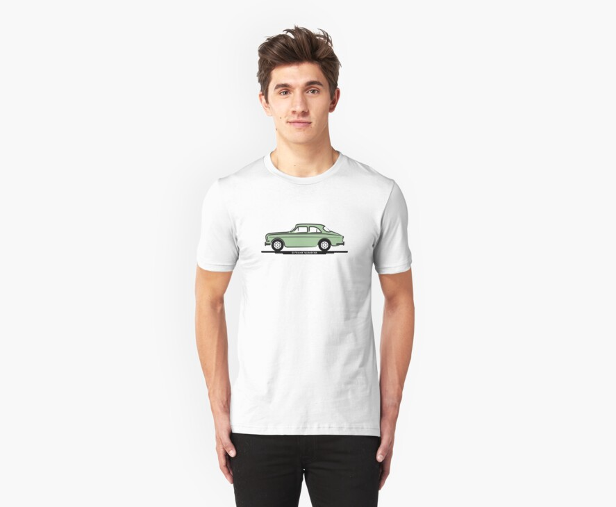 Volvo Amazon Lite Green for White Shirts by Frank Schuster