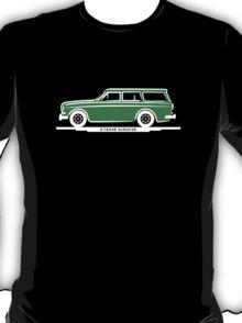 Volvo Amazon Station Wagon Kombi Green Eerkes for Black Shirts T-Shirt
