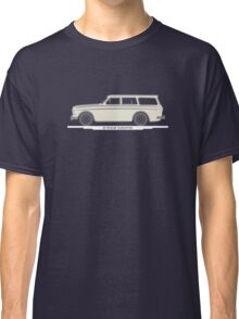 Volvo Amazon Station Wagon Kombi White for Black Shirts Classic T-Shirt