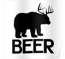 BEER ( Deer and Bear Fusion) Poster