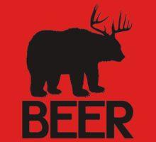 BEER ( Deer and Bear Fusion) Baby Tee