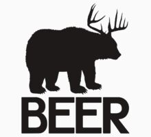 BEER ( Deer and Bear Fusion) Baby Tee