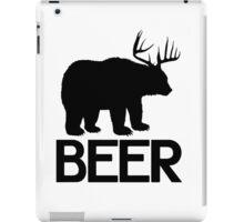 BEER ( Deer and Bear Fusion) iPad Case/Skin