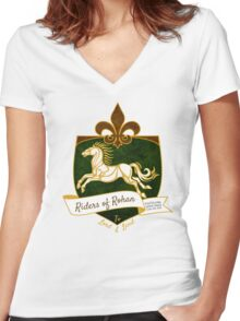 The Riders Women's Fitted V-Neck T-Shirt