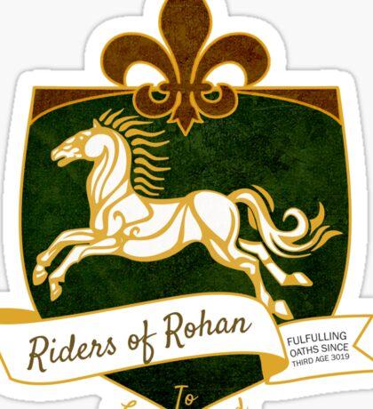 The Riders Sticker