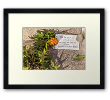 The Power of Boston Framed Print