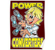 "Star Wars Luke Skywalker ""Power Converters"" Poster"