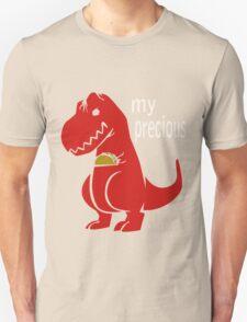T-Rex Precious Taco funny nerd geek geeky T-Shirt