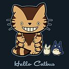 Hello Catbus by fishbiscuit