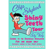 Chip Skylark Tour Poster - Faily Oddparents Photographic Print