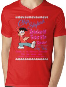Chip Skylark Tour Poster - Faily Oddparents Mens V-Neck T-Shirt