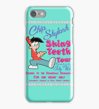 Chip Skylark Tour Poster - Faily Oddparents iPhone Case/Skin