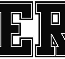 NERD (for light color t-shirts) Sticker