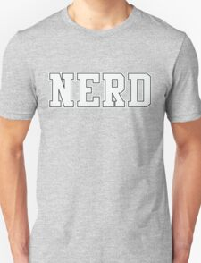 NERD (for dark color t-shirts) Unisex T-Shirt