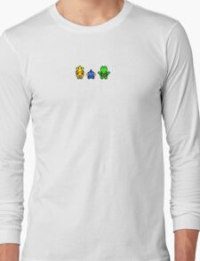 Pokemon Hoenn Starters Long Sleeve T-Shirt