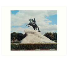 Bronze Horseman Art Print
