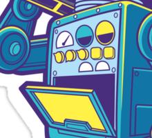 Robot Kicks Sticker