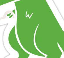 Unstoppable T-Rex funny nerd geek geeky Sticker