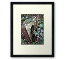 No more home cooked meals. Framed Print