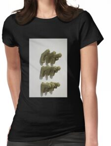 Quilted Firearms  Womens Fitted T-Shirt