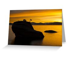 Bonsai Rock Greeting Card