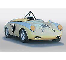 1961 Porsche 356 'Race Prepped' Roadster Photographic Print