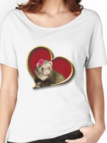 Mother's Day Ferret Women's Relaxed Fit T-Shirt