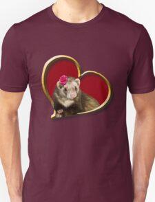 Mother's Day Ferret Unisex T-Shirt