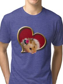 Mother's Day Hamster Tri-blend T-Shirt