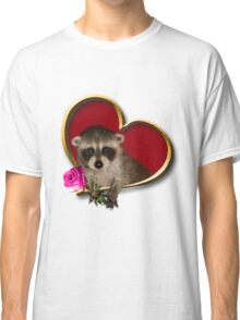 Mother's Day Raccoon Classic T-Shirt