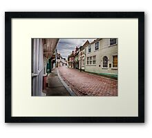 West Street Framed Print