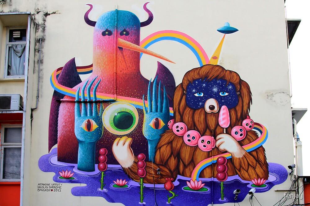 Street Art: global edition # 61 by fenjay