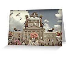Federal Palace of Switzerland - bundeshaus Greeting Card