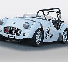 1962 Triumph TR3 B by DaveKoontz