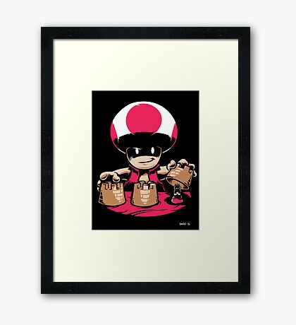 Yet Another Castle Framed Print