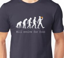 Will Evolve for Food - T Shirt Unisex T-Shirt