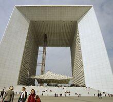 La Grande Arche de La Défense, Paris, France by Andrew Jones